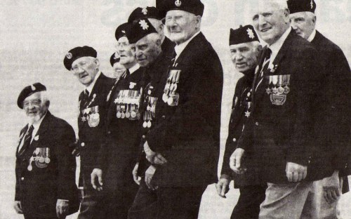 Veterans at the 60th Anniversary