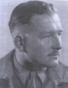 Geoffery in his uniform during the war