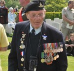 Trip member Harry Gordon and his medals
