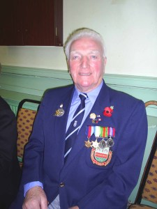 A recent photo of Jim with his medals