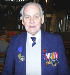 John at a memorial service
