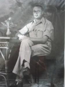 Harry in his uniform